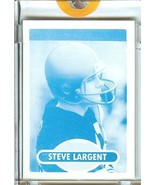 seattle seahawks steve largent 1980 topps proof football card rare 1/1 - $199.99