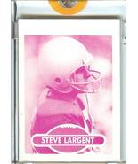 1980 topps steve largent seattle seahawks football card proof 1/1 - $199.99