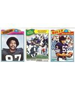 1977 topps football 3 card strip jim zorn seattle seahawks proof card uncut - $99.99