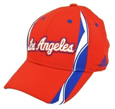 @ Los Angeles Clippers Red Pro Shape Structured Flex Hat by adidas - TY15Z - $7.98