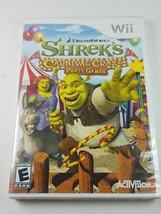 Wii Dreamworks Shrek's Carnival Craze Party Games - $8.32