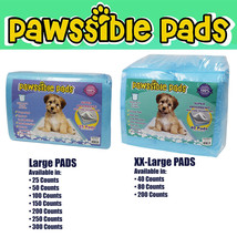 Pawssible Training Pads for Dogs & Cats. Finest Quality Pads for ANY SIZ... - $13.85+