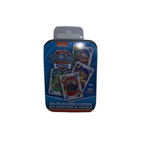 nickelodeon Paw Patrol Playing cards In A Collectible Tin - $9.90