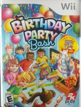 Birthday Party Bash (Nintendo Wii, 2009) Complete w/ Manual - $4.73