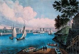 Blackwell Island by Nathaniel Currier - Art Print - $19.99+