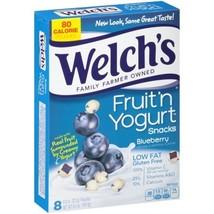 Welch's Blueberry Fruit 'n Yogurt Snacks 6.4oz, one box - $9.95
