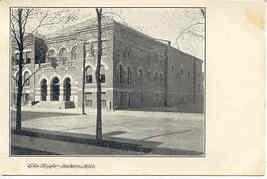 Elks Temple Jackson Michigan Circa 1916 Vintage Post Card  - $5.00
