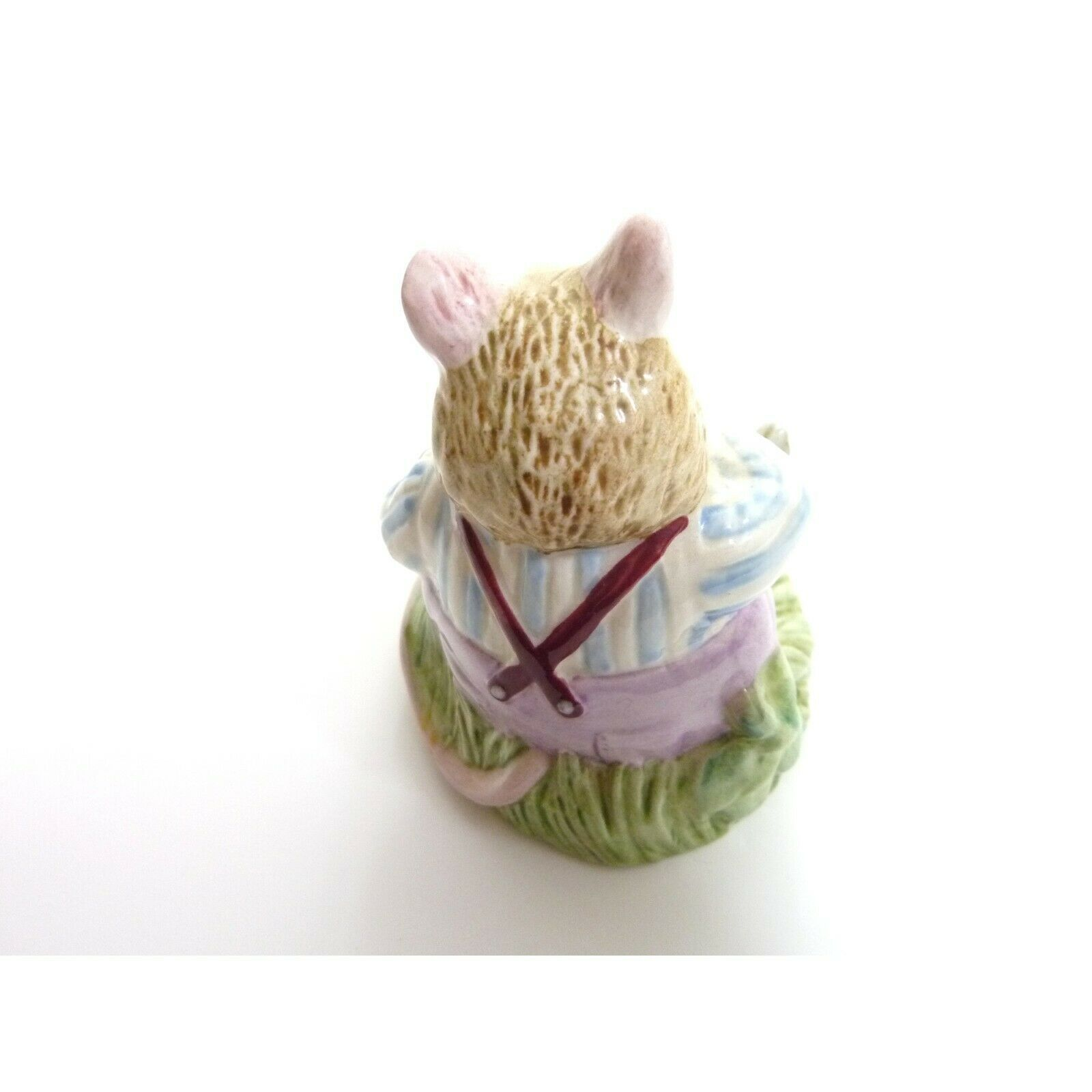 Vintage Mr Toadflax, no cushion, tail on side Royal Doulton figurine image 3