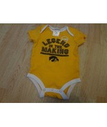 """Infant/Baby Iowa Hawkeyes 6/9 Mo Creeper One-Piece """"Legend In the Making... - $8.59"""