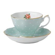 Royal Albert 8701026135 Polka Rose Formal Vintage Teacup and Saucer Boxe... - $25.43