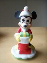 Disney Minnie Mouse Christmas Figurine  - $15.00