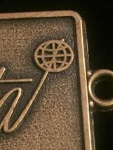 Vintage 70s NAMTA Brass Keychain Tag  image 5