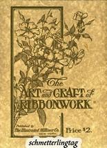 1919 Titanic Flapper Era Millinery Book Hat Making Ribbon Work Hats Mill... - $12.99