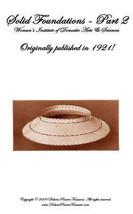 1921 Millinery Book Make Flapper Hat Frames Foundations Hats Milliner Guide 1/2 - $12.99