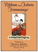 1925 Flapper Era Millinery Book Make Hat Dress Flowers Trims Milliner Ho... - $12.99