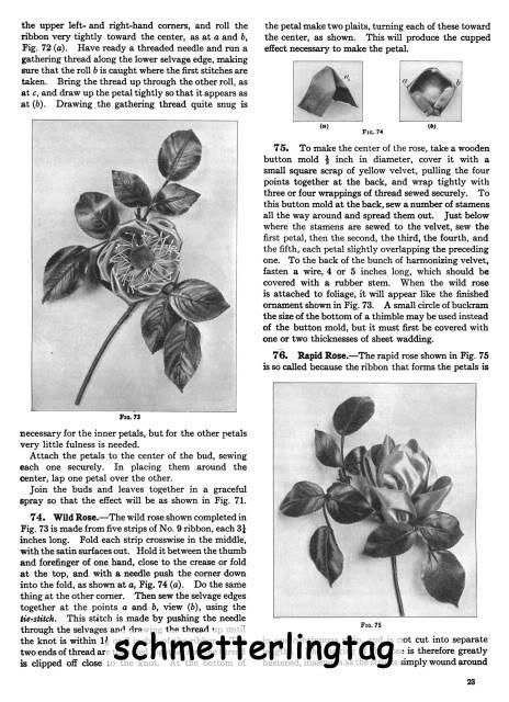 1925 Flapper Era Millinery Book Make Hat Dress Flowers Trims Milliner How Guide