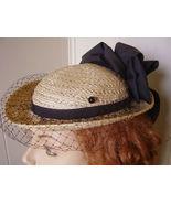 Victorian Hat Pin 4 Civil War Dress Black Hd Blown Glass Unworn 1870s An... - $19.15