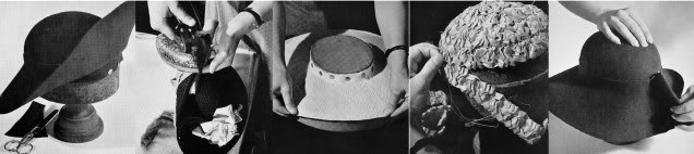 1950 Millinery Book Retro Hat Making Make Hats How to Ritcher Milliner Guide DIY