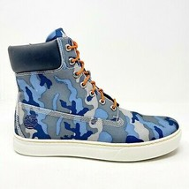 Timberland Earthkeepers 2.0 Cupsole 6 inch Blue Camo Sneaker Boots 6957R - $109.95
