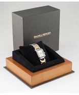 Baume & Mercier Stainless Steel & Gold-Plated Diamant Hampton Watch w/ B... - $1,782.00