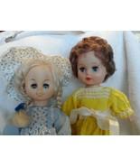 Vintage 2 baby dolls made in Hong Kong closing eyes - $16.00