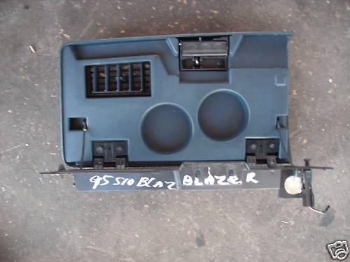 95-97 blazer gove box assembly w/ cup holder