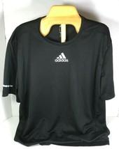 Adidas Men's Black Prime Tee CLIMALITE Technology- Large - $11.63