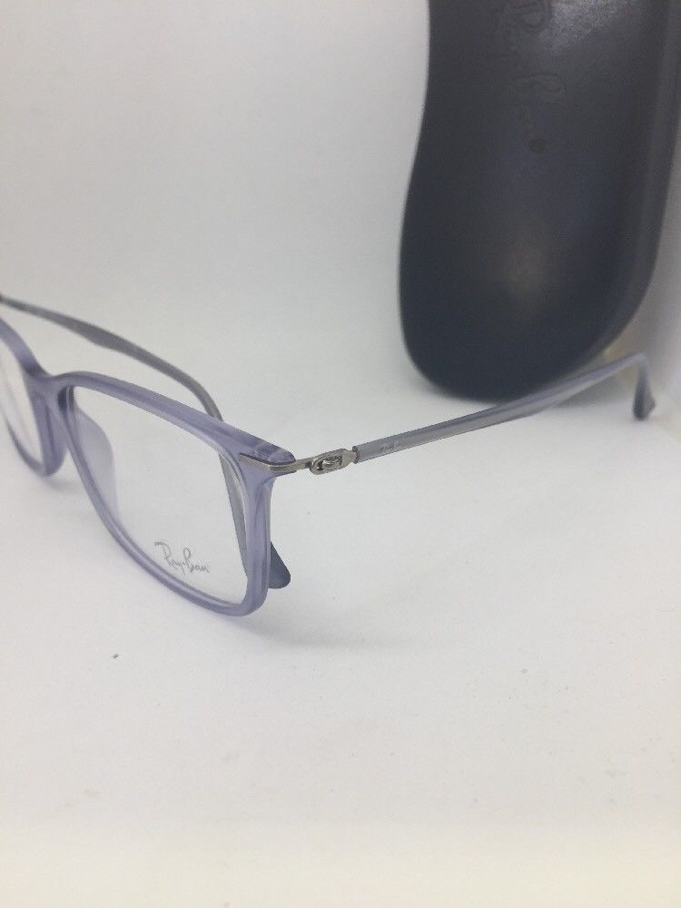 419f2c7e6f9 New Authentic Ray Ban RB 7031 5401 Matte Violet LightRay RX Eyeglasses 55mm