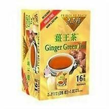 Prince of Peace Ginger Green Tea - 16 Tea Bags - $7.94