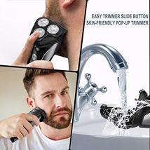 Electric Razor for Men FLYCO Intelligent Electric Shaver, Wet & Dry Rotary Shave image 7