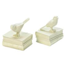 Decorative Bookends, Adjustable Decorative Bookends Songbirds Bookends - £20.74 GBP