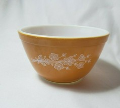 Vintage Pyrex Small 1 1/2 Pint 750 ml Nesting Mixing Bowl #401 Butterfly... - $12.61
