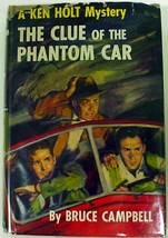 Ken Holt Mystery no.8 The Clue of the Phantom Car like Hardy Boys hcdj C... - $14.00