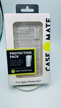 OEM Case-Mate Protection Pack Case for iPhone SE/7/8 +Glass Screen Prote... - $18.69