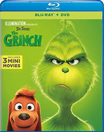 Primary image for Illumination Presents: Dr. Seuss' The Grinch [Blu-ray + DVD] (2019)