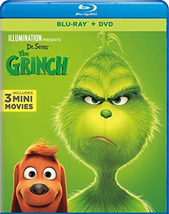Illumination Presents: Dr. Seuss' The Grinch [Blu-ray + DVD] (2019) - $10.95