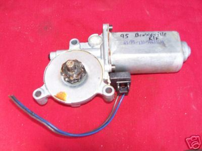 95 Bonneville Rightfront Window Motor
