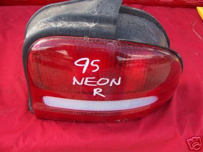 "95 Neon Right Tail Light ""NICE CONDITION"""