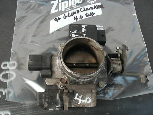 96-01 cherokee/grand cherokee 4.0 engine throttle valve