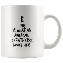 Coffee mug gift What an awesome FATHER mug - $16.50