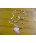 pink hello kitty pendant necklace - brand new - $12.99