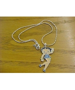 betty boop charm & necklace - brand new - $12.99