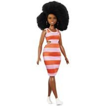 Barbie Fashionista #105 African American Curvy Doll Afro Hair - $15.00