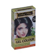 Indus Valley Permanent Black Hair Color 1 Touch Pack (30 g Gel + 5 g Pow... - $11.62