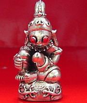 Thai Souvenir Amulets Talisman Pra Ya Ngung Lueng Thong Pendats Kruba Subin - $125.00