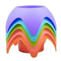 Beach Vacation Accessories, AOMAIS Beach Sand Coasters Drink Cup Holders... - $18.26