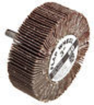Mounted Flap Wheel, 3 x 1-In. With .25-In. Shank, 60-Grit - $20.78