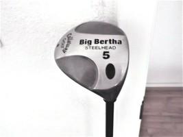 Callaway Big Bertha Steelhead RH 5 Wood Ladies Gems 99 Graphite W/Head Cover  - $49.45