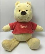 "Disney Babies 12"" Winnie the Pooh Plush Baby Rattle Toy - $9.85"