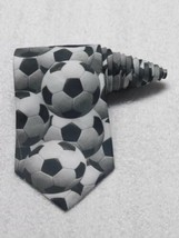 Ralph Marlin Just Balls Soccer Novelty Men's Necktie Tie - $12.86